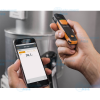 infrared thermometer with smartphone operation